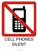 Cell Phones Silent