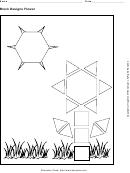 Block Designs Flower