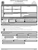 Form I-192 - Application For Advance Permission To Enter As A Nonimmigrant