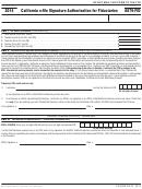 Form 8879-fid - California E-file Signature Authorization For Fiduciaries - 2014