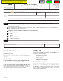 Form 804 - Claim For Decedent's Wisconsin Income Tax Refund