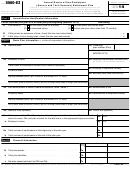 Form 5500-ez - Annual Return Of One-participant (owners And Their Spouses) Retirement Plan - 2014