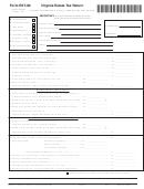 Form Est-80 - Virginia Estate Tax Return