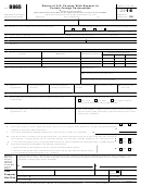 Form 8865 - Return Of U.s. Persons With Respect To Certain Foreign Partnerships - 2014