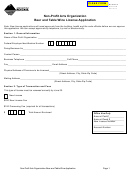 Form Non-btw - Non-profit Arts Organization Beer And Table Wine License Application