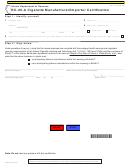 Form Rc-25-a - Cigarette Manufacturer/importer Certification