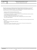 Form 885-h-aoc - Supporting Documents To Prove American Opportunity Credit