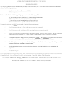 Application For Limited Driving Privileges - Chillicothe Municipal Court, Ohio