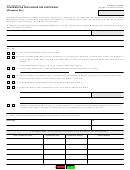 Form Boe-1400-b - Contribution Disclosure For Participant (witnesses, Etc.)