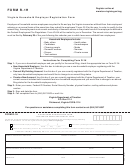 Form R-1h - Withholding Registration Form Household Employer Annual Filer