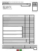Form Boe-501-ffp - Hazardous Waste Facility Fee Prepayment Form - Federal First Prepayment
