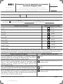 Form 8951 - Compliance Fee For Application For Voluntary Correction Program (vcp)