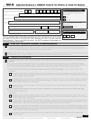 Form 944-x - Adjusted Employer's Annual Federal Tax Return Or Claim For Refund