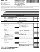 Form 1035 - Forest Products Tax Return Small Manufacturers And Certain Small Severers