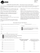 Form Erec - Renewable Energy Credit Report