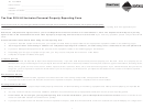 All Inclusive Personal Property Reporting Form - Montana Department Of Revenue - 2014