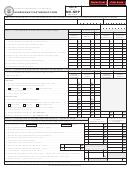 Form Mo-nrp - Nonresident Partnership Form - 2012