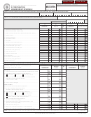 Schedule Mo-nrs - S Corporation Nonresident Schedule
