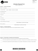 Form Altret - Alteration Request Form