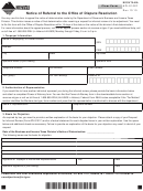 Form Apls102f - Notice Of Referral To The Office Of Dispute Resolution