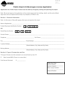 Form Airport - Public Airport All-beverages License Application