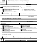 Form 5306 - Application For Approval Of Prototype Or Employer Sponsored Individual Retirement Arrangement (ira)