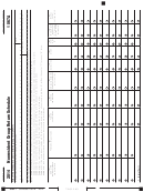 Schedule 1067a - California Nonresident Group Return Schedule - 2014