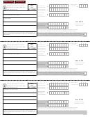 Form Mo-1040es - Estimated Tax Declaration For Individuals - 2012