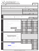 Form Mo 1120x - Amended Corporation Income Tax Return - For Tax Years 1992 And Prior