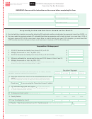 Form D-2220 - Underpayment Of Estimated Franchise Tax By Businesses - 2013