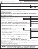 Form Mo-2210 - Underpayment Of Estimated Tax By Individuals - 2013