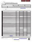 Form Mo-5090 - Net Operating Loss Addition Modification Sheet