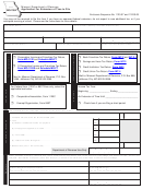 Form Mo-7004 - Application For Extension Of Time To File