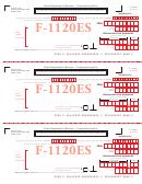 Form F-1120es - Declaration/installment Of Florida Estimated Income/franchise Tax