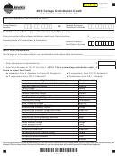 Montana Form Cc - College Contribution Credit - 2013