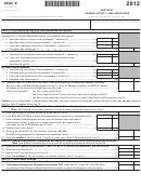 Form 8582-k - Kentucky Passive Activity Loss Limitations - 2012