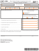 Form Cnf-120t - West Virginia Tentative Corporation Net Income/ Business Franchise Tax Return - 2011