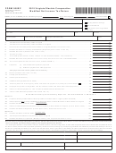 Form 500ec - Virginia Electric Cooperative Modified Net Income Tax Return - 2015
