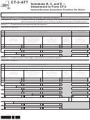 Form Ct-3-att - Schedules B, C, And D - Attachment To Form Ct-3 - 2013