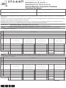 Form Ct-3-a/att - Schedules A, B, And C - Attachment To Form Ct-3-a - 2013