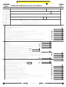 Form 541 - California Fiduciary Income Tax Return - 2012