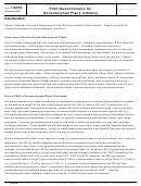 Form 14035 - Pilot Questionnaire For Governmental Plans Initiative