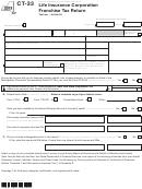 Form Ct-33 - Life Insurance Corporation Franchise Tax Return - 2013