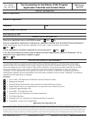 Form 14204 - Tax Counseling For The Elderly (tce) Program Application Checklist And Contact Sheet