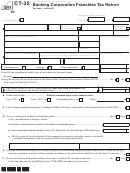 Form Ct-32 - Banking Corporation Franchise Tax Return - 2013