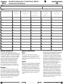 Form Qs - California Qualified Subchapter S Subsidiary (qsub) Information Worksheet - 2014