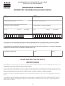 Form Crt-61 - Certificate Of Resale - Illinois printable ...