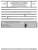 Form 14704 - Transmittal Schedule - Form 5500-ez - Delinquent Filer Penalty Relief Program