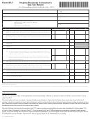 Form St-7 - Virginia Business Consumer's Use Tax Return - 2013
