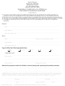 Form Cot/cd-206 - Exemption Certification For Utilities Or Fuel Used In Production Activities